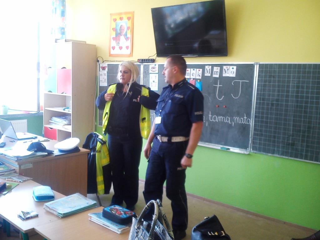 lekcja z policją